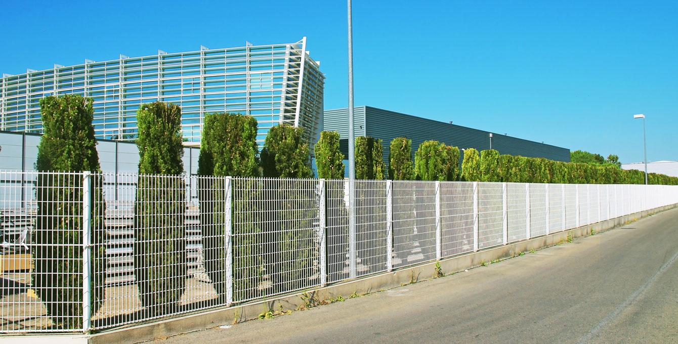 Panele ogrodzeniowe - ogrodzenia panelowe